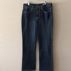 Wrangler rock 47 aura jeans boot cut stone wash
